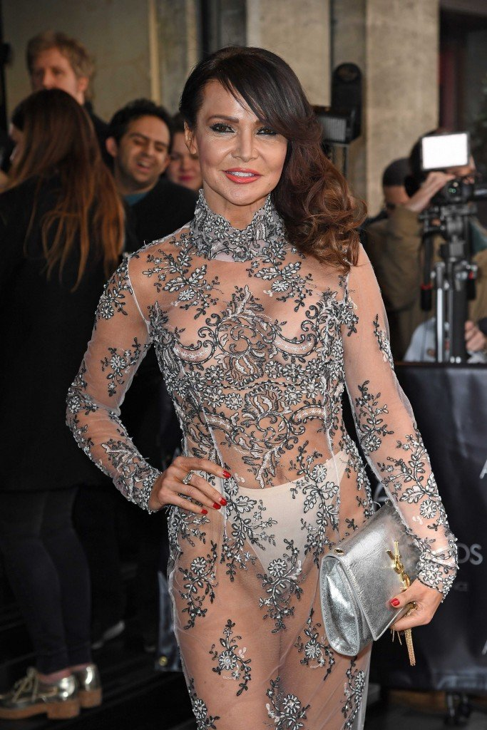Lizzie Cundy See Through 8