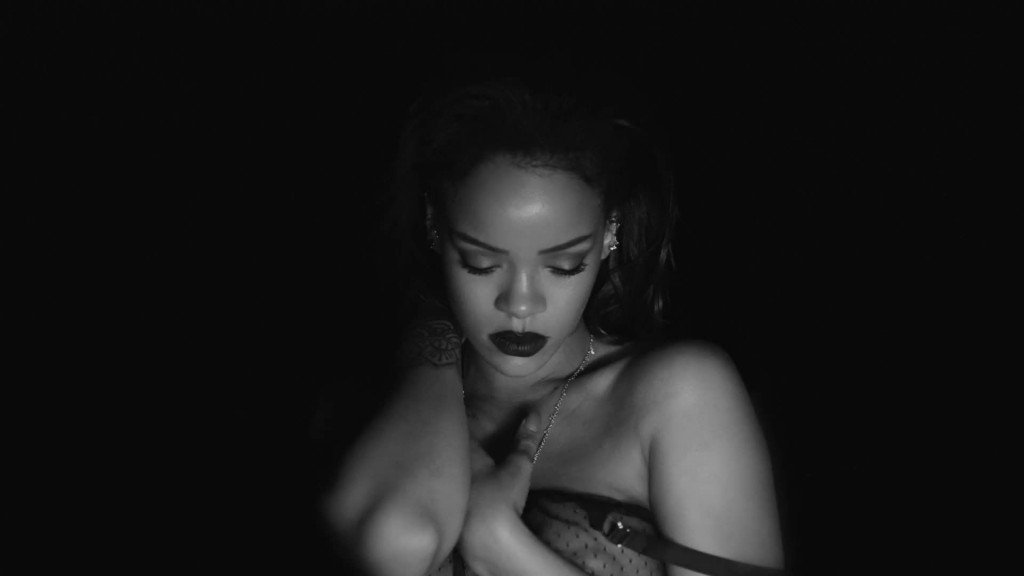 Rihanna Topless & See-Through 17