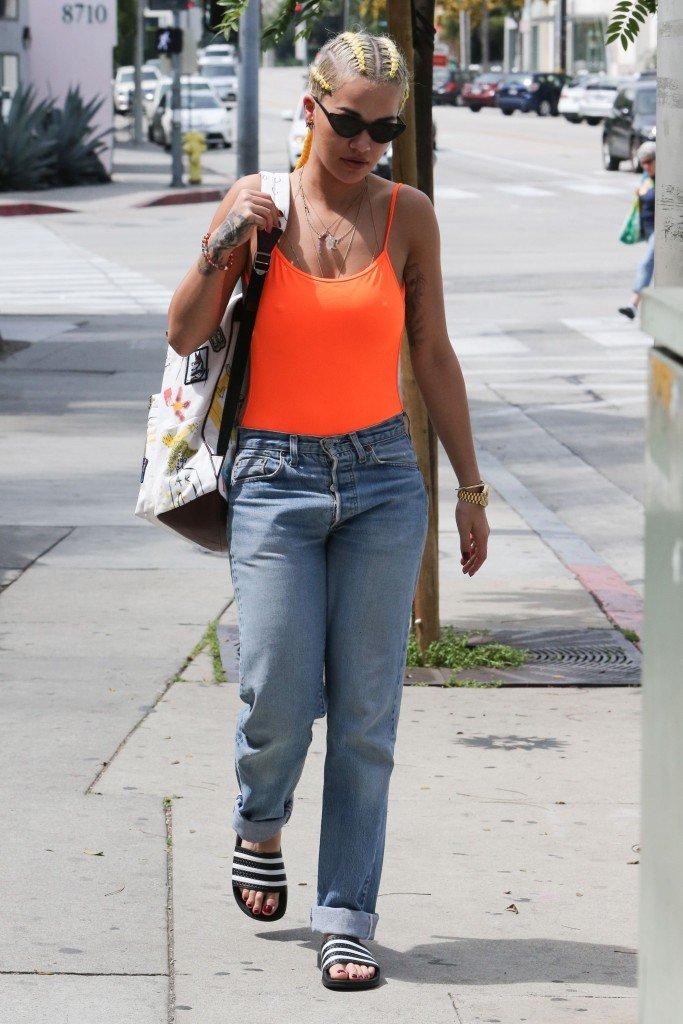Rita Ora Braless 6