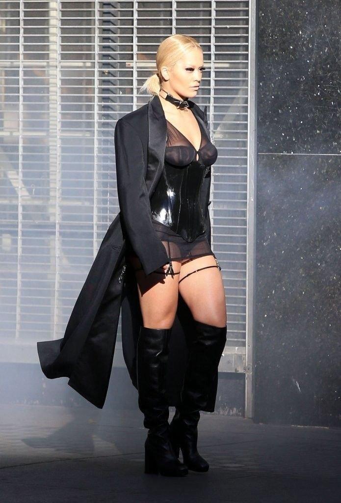 Rita Ora See Through Sexy 11