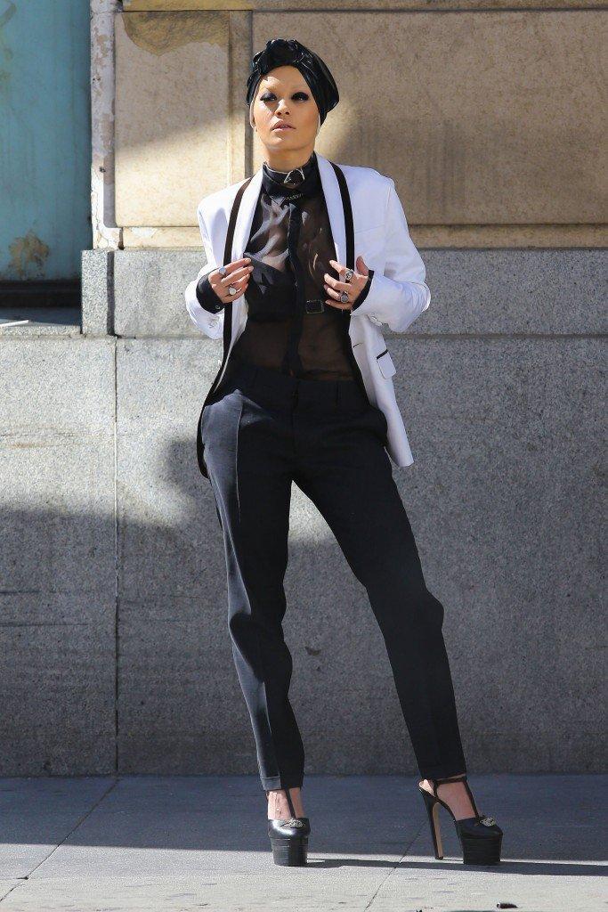 Rita Ora See Through Sexy 110