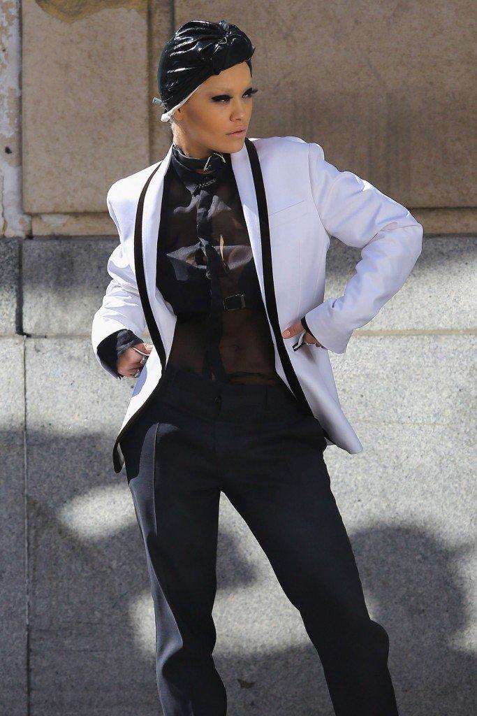 Rita Ora See Through Sexy 111