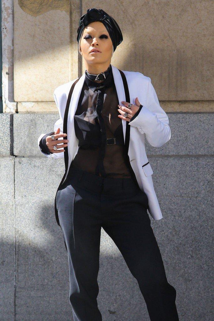 Rita Ora See Through Sexy 112