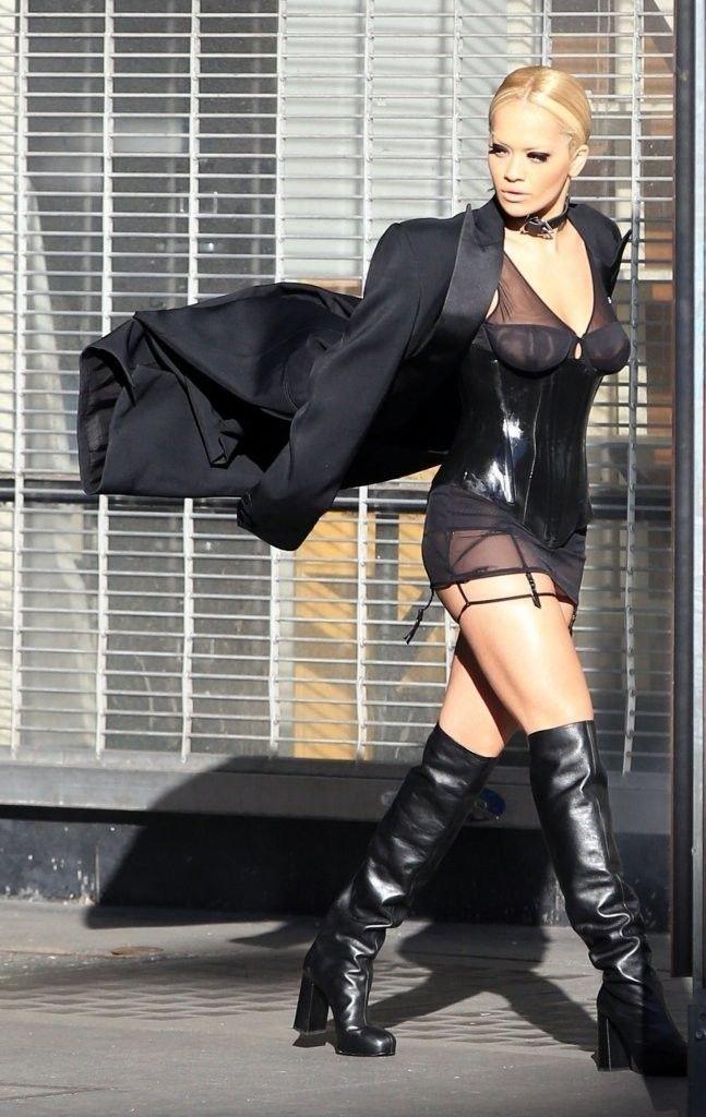 Rita Ora See Through Sexy 12