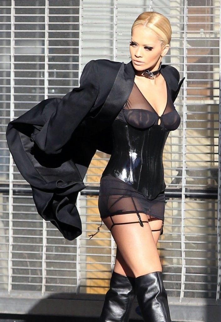 Rita Ora See Through Sexy 13