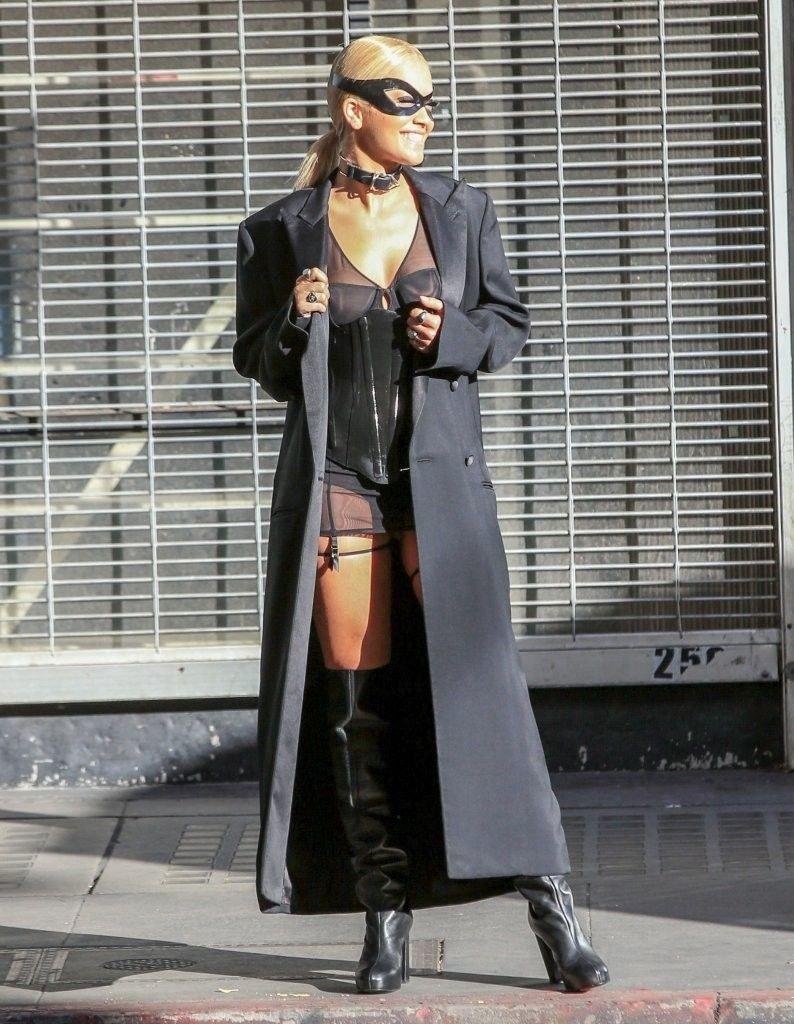 Rita Ora See Through Sexy 3