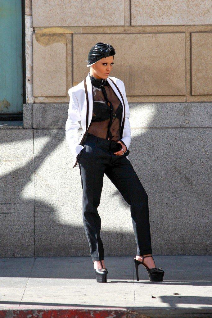 Rita Ora See Through Sexy 69