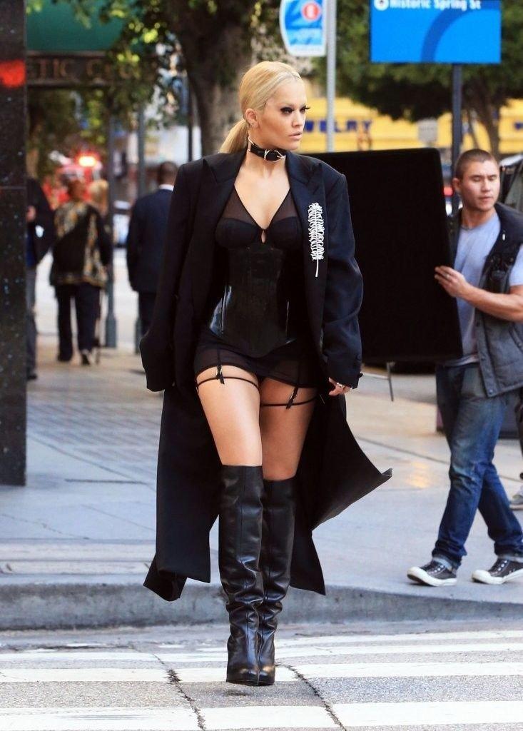 Rita Ora See Through Sexy 8