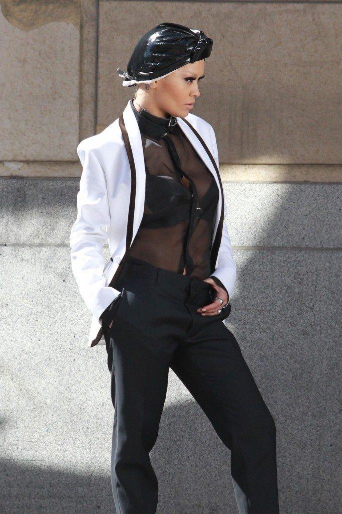 Rita Ora See Through Sexy 84