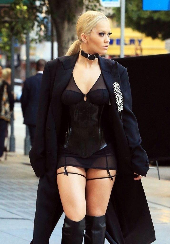 Rita Ora See Through Sexy 9