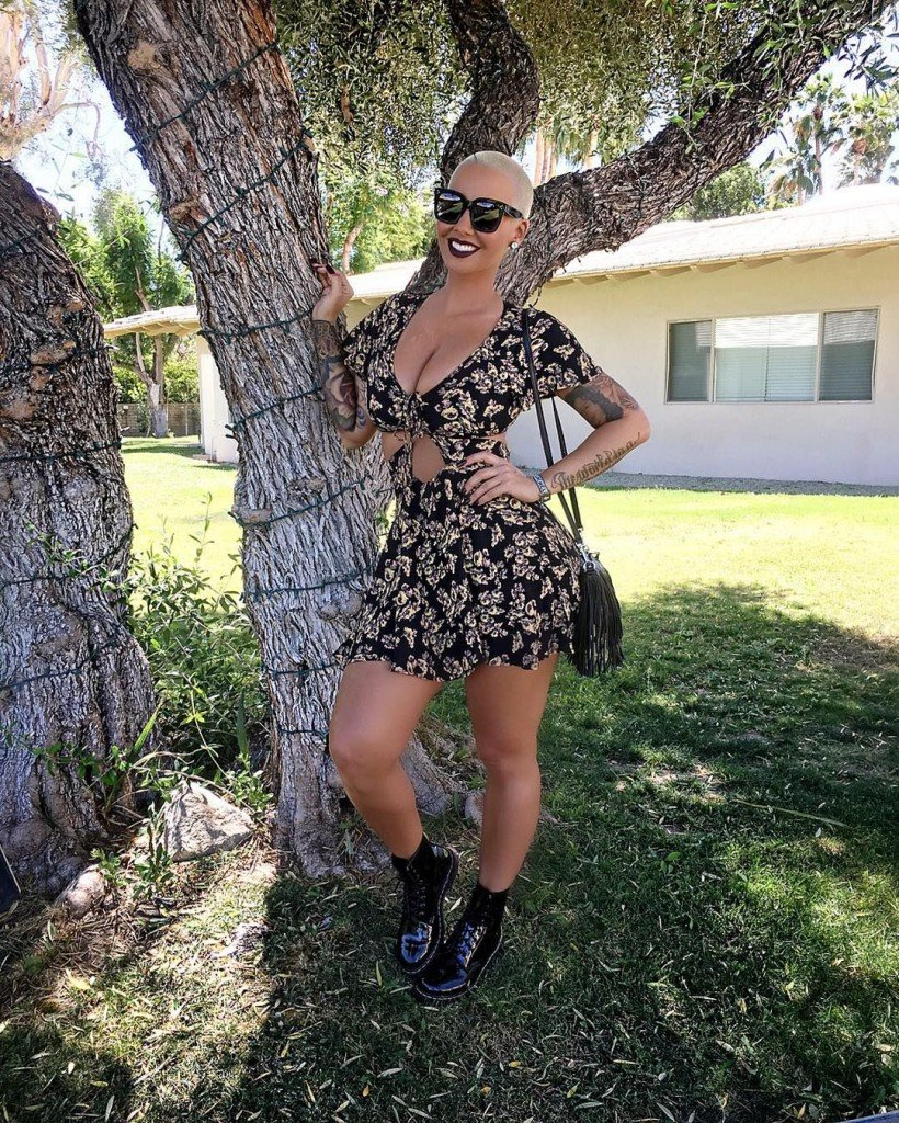 Amber Rose Sexy (19 Photos)