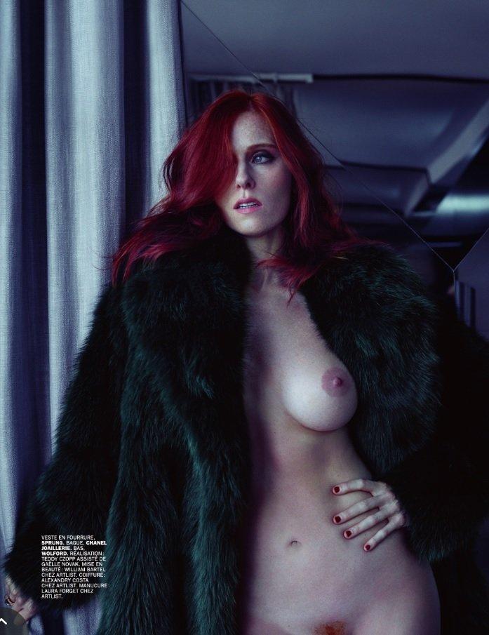 Audrey Fleurot Sexy & Topless (6 Photos)