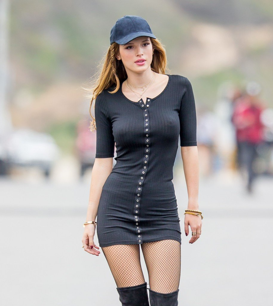 bella thorne see through