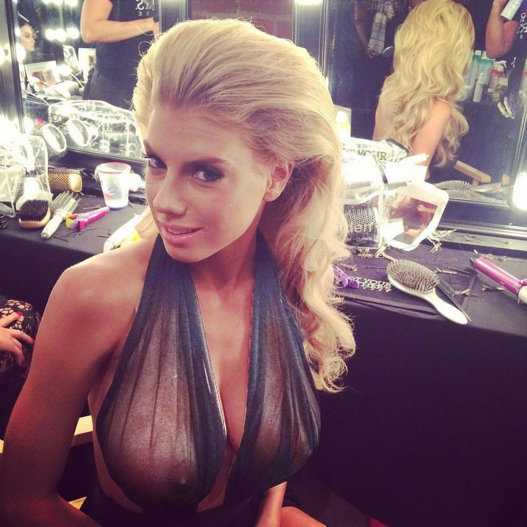Charlotte McKinney See Through 2
