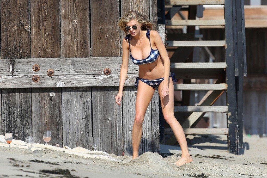 Charlotte McKinney in a Bikini 5