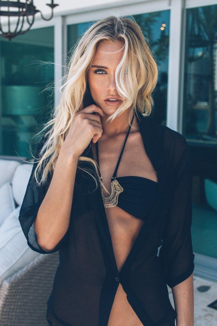 Beautiful blonde sara underwood sexy nude photoshoot 1 - 2 part 4