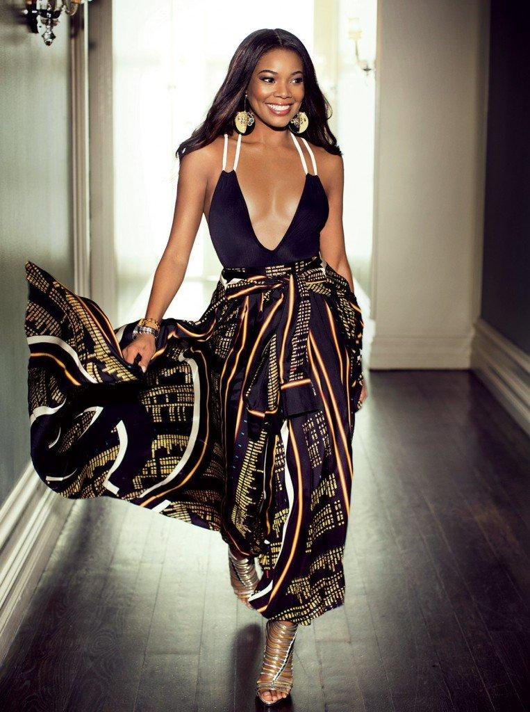 Gabrielle Union Cleavage (2 Photos)