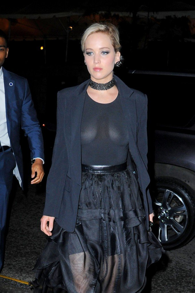 Jennifer Lawrence See Through 1