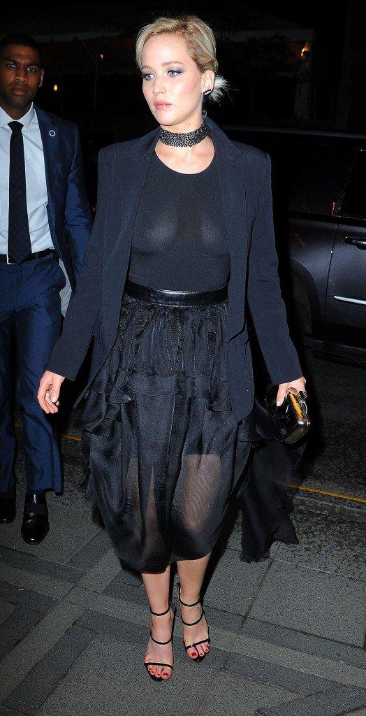 Jennifer Lawrence See Through (14 Photos)