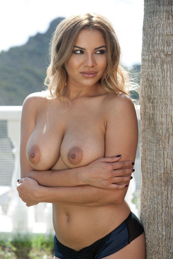 Lacey Banghard Topless 1