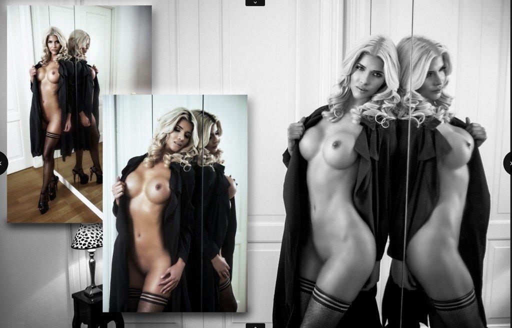 Micaela Schäfer Topless (8 New Photos)