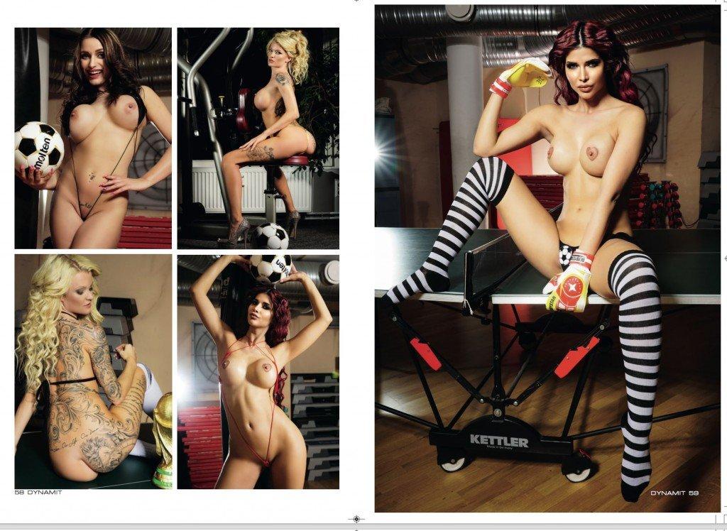 Micaela Schäfer Nude & Sexy (9 Photos)