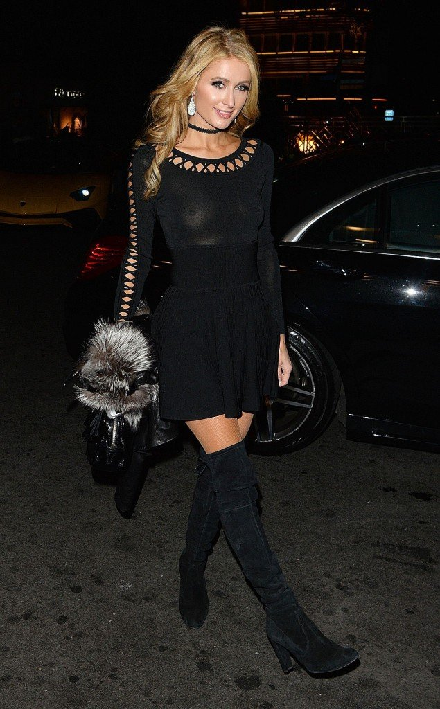 Paris Hilton Braless (50 Photos) | #TheFappening Paris Hilton