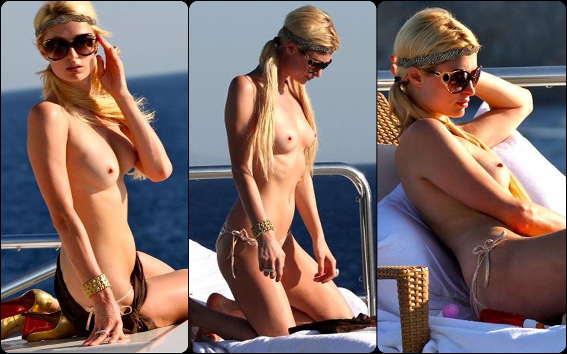 Paparazzi pic of celeb naked