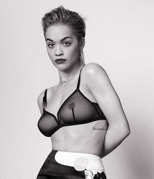 Rita Ora Sexy & Topless 3