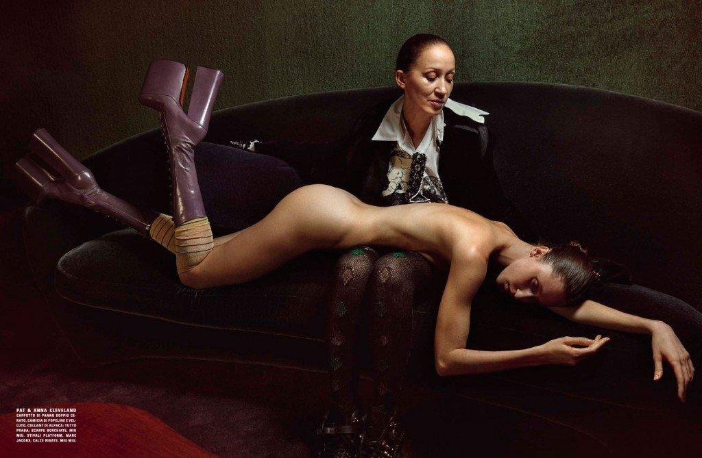 Anna Cleveland Nude (4 Photos)