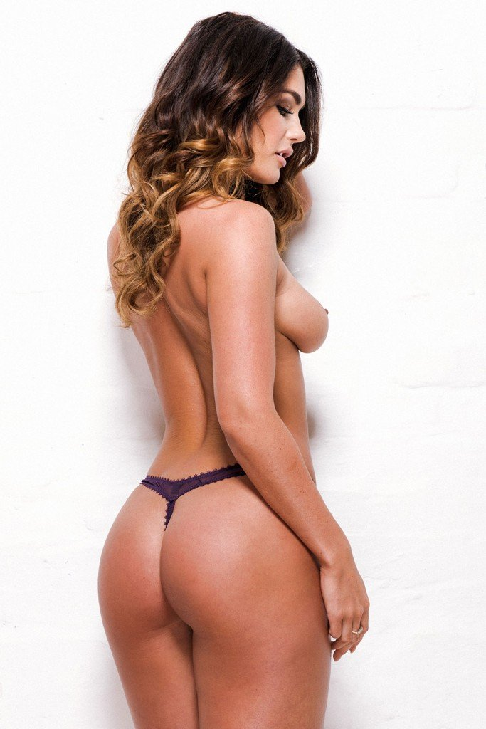 India Reynolds Sexy and Topless (4 Photos)
