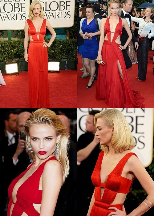 January Jones vs. Natasha Poly