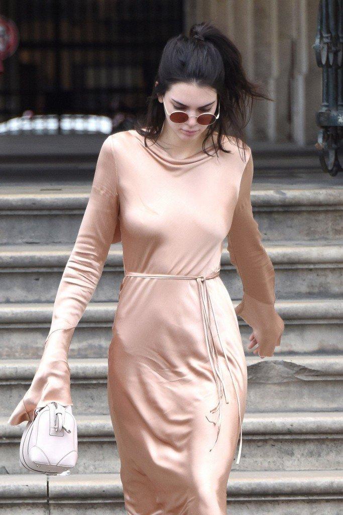 Kendall Jenner Braless (12 Photos)