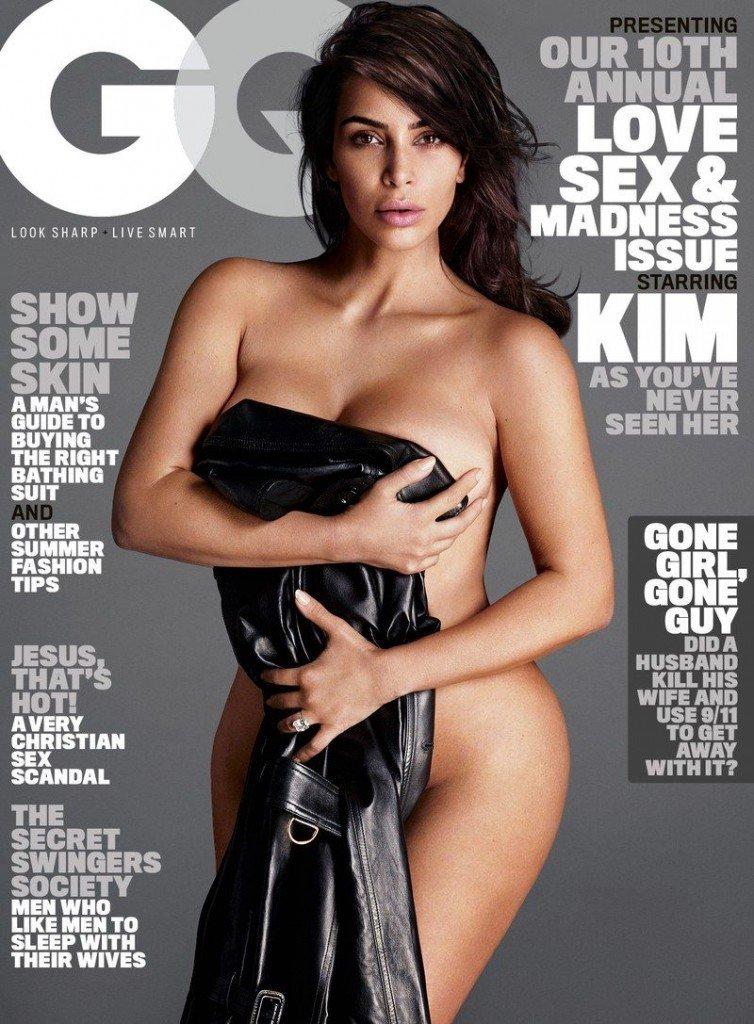 Kim Kardashian Nude Sexy 1