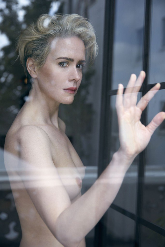 Sarah Paulson Sexy Topless 2