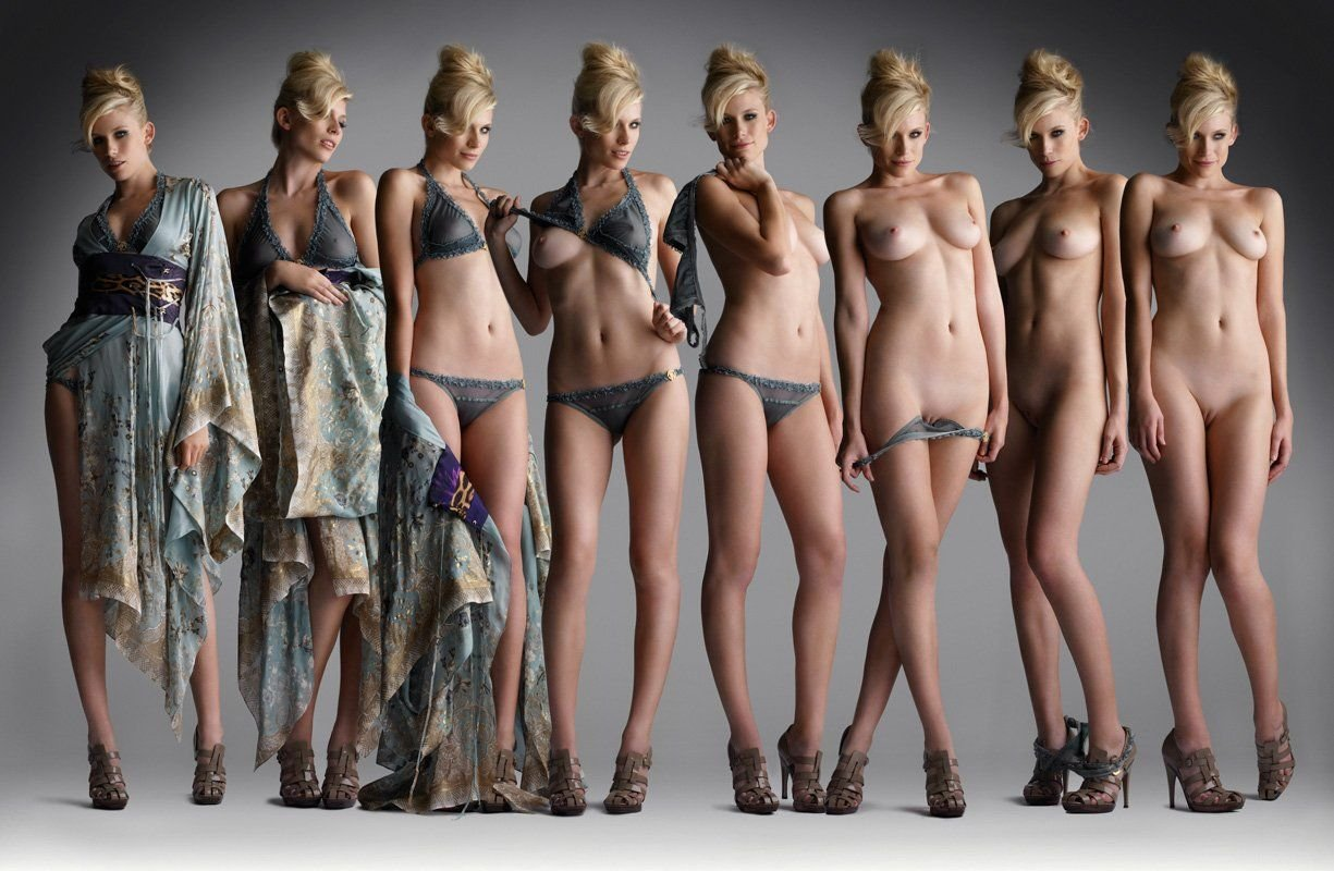 Super naked model