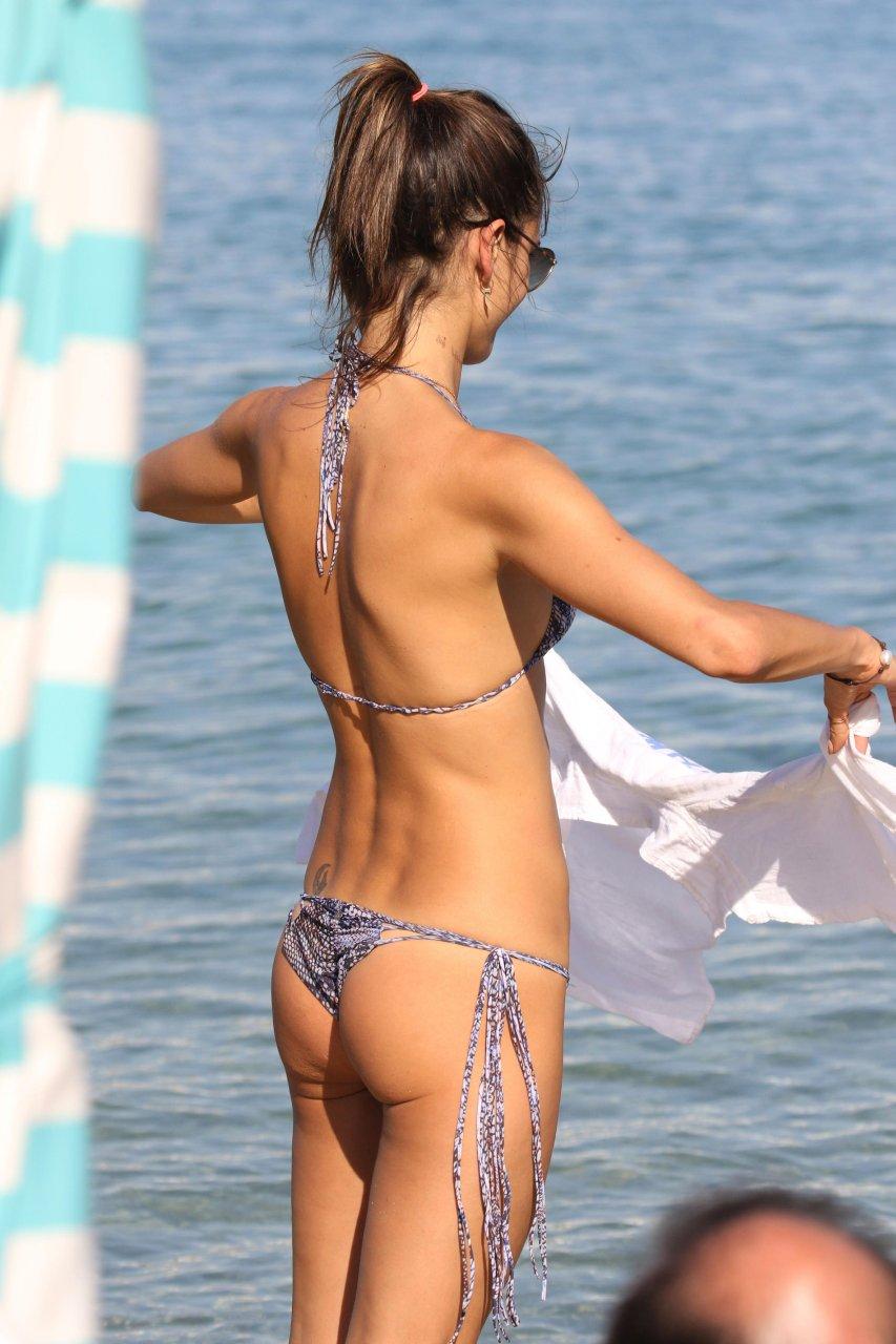 Bbw naked micro bikini