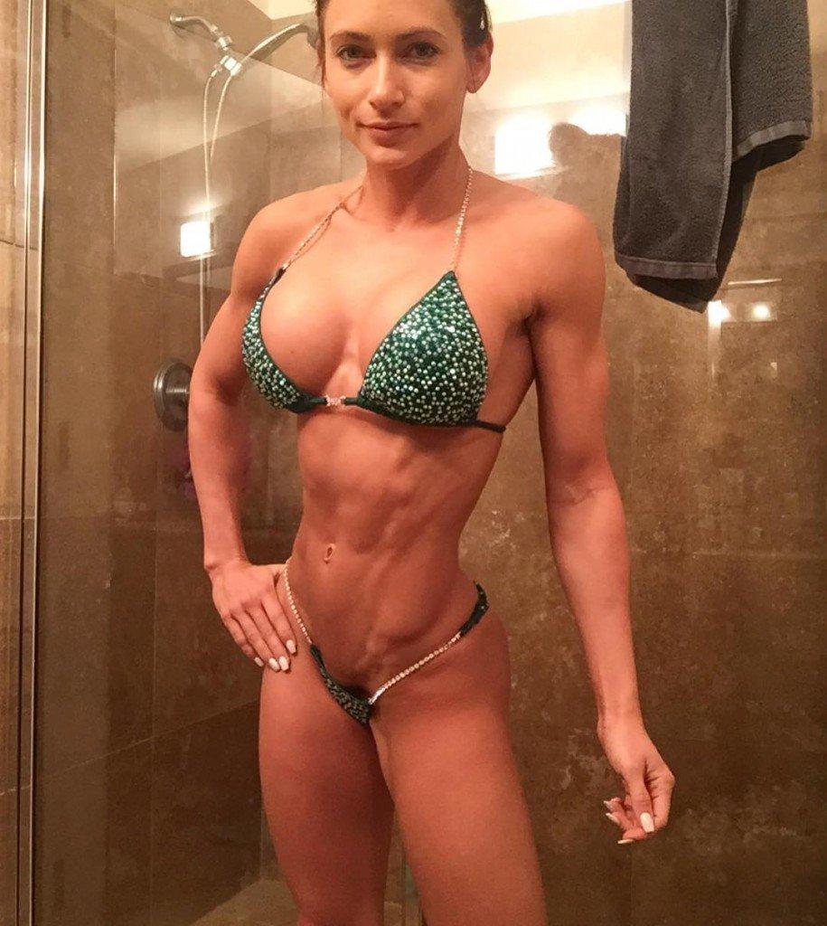 Fitness porn model female consider, that