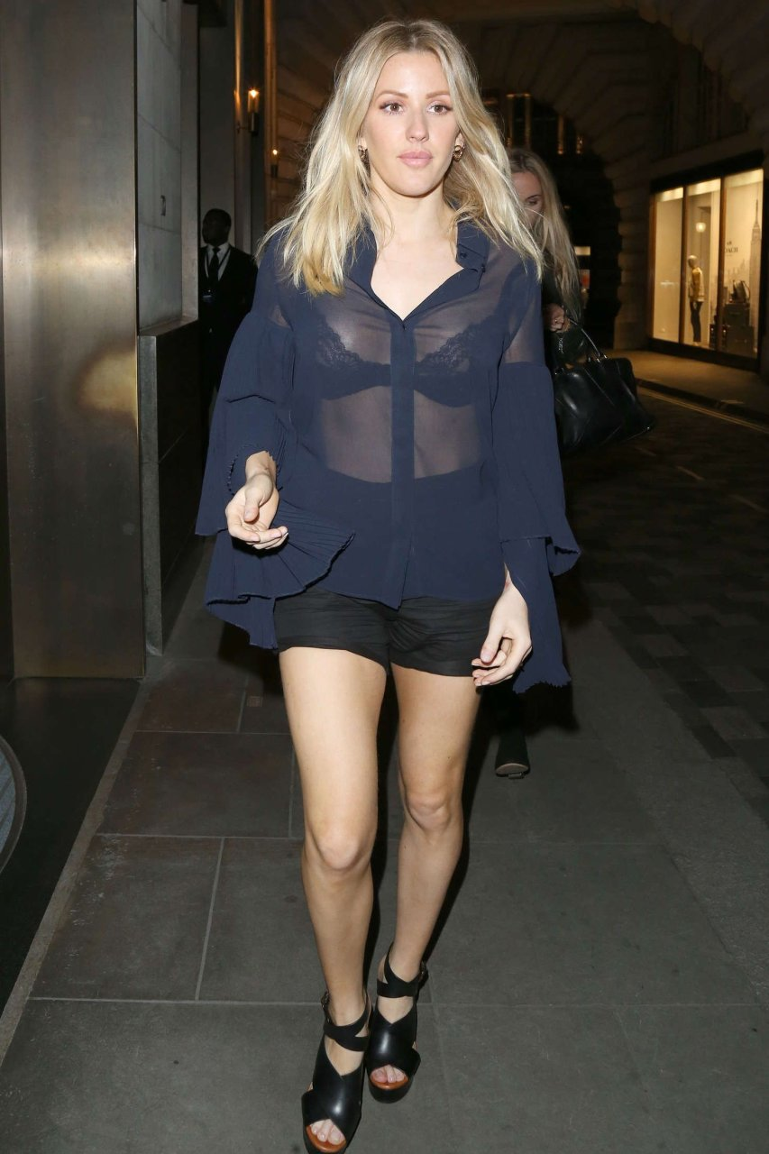 ellie goulding see through (5 photos) | #thefappening