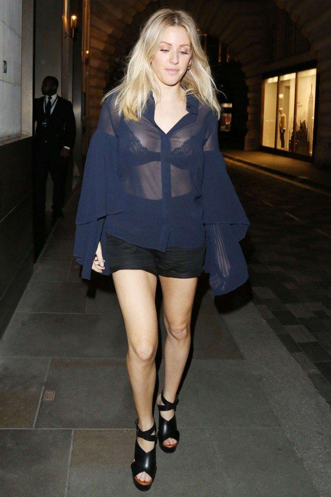 Ellie Goulding See Through (5 Photos)