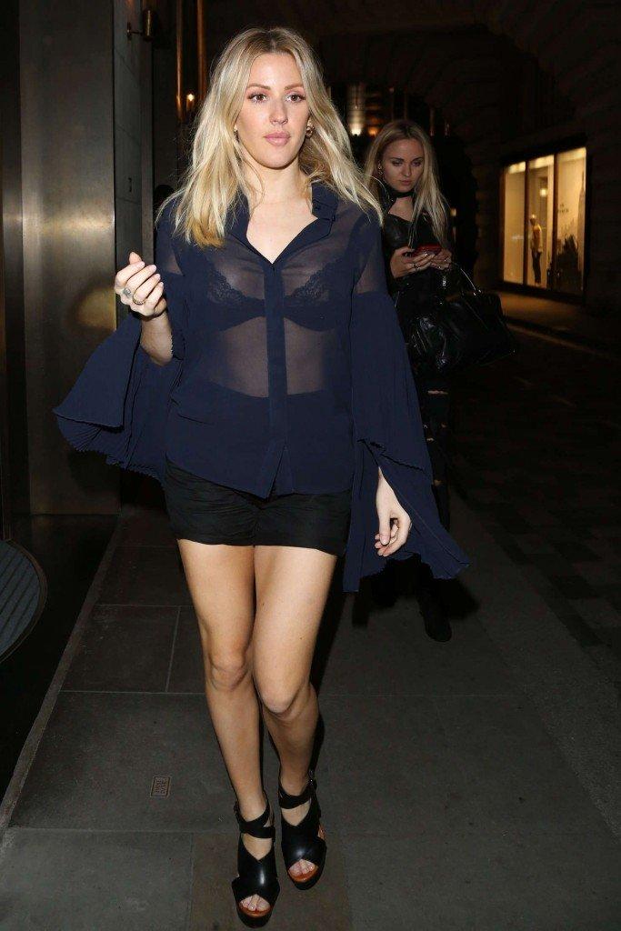 Love Island star Ellie Brown flashes side boob in