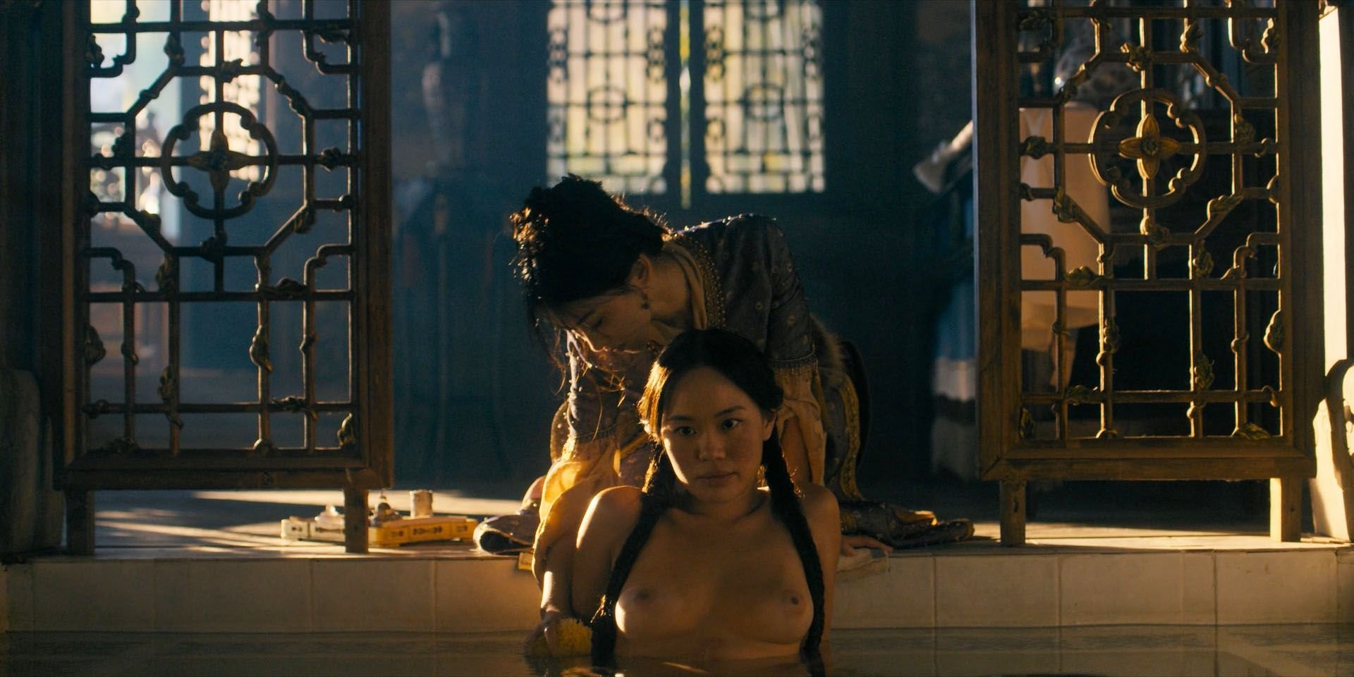Olivia cheng in marco polo s1e34 - 2 part 1