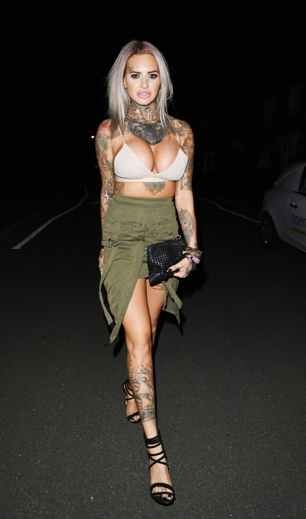 Jemma Lucy Cleavage 28