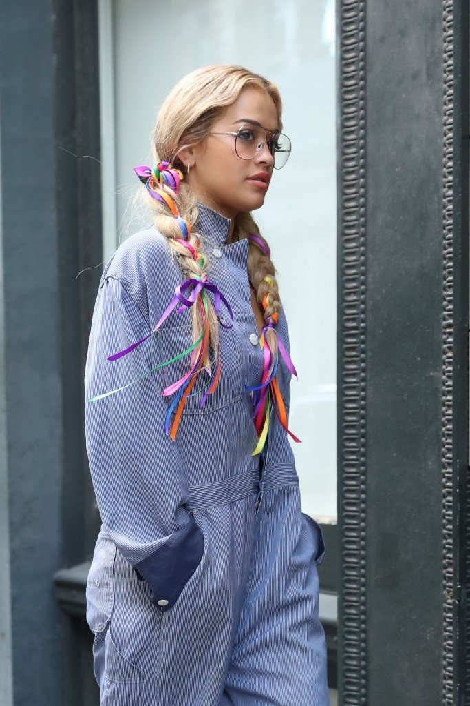Rita Ora Braless (34 Photos)
