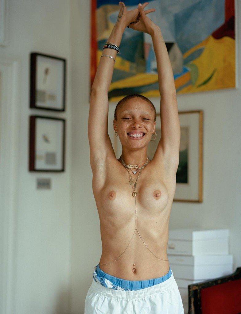 Adwoa Aboah Topless (1 Photo)
