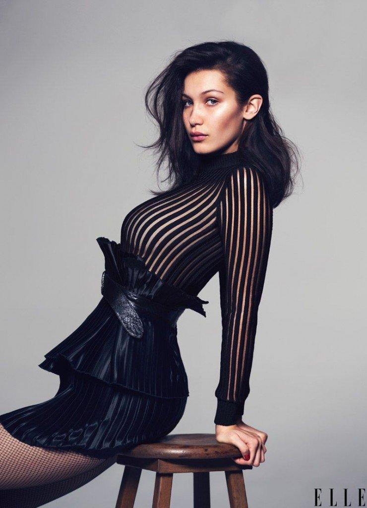 Bella Hadid Sexy ELLE 1