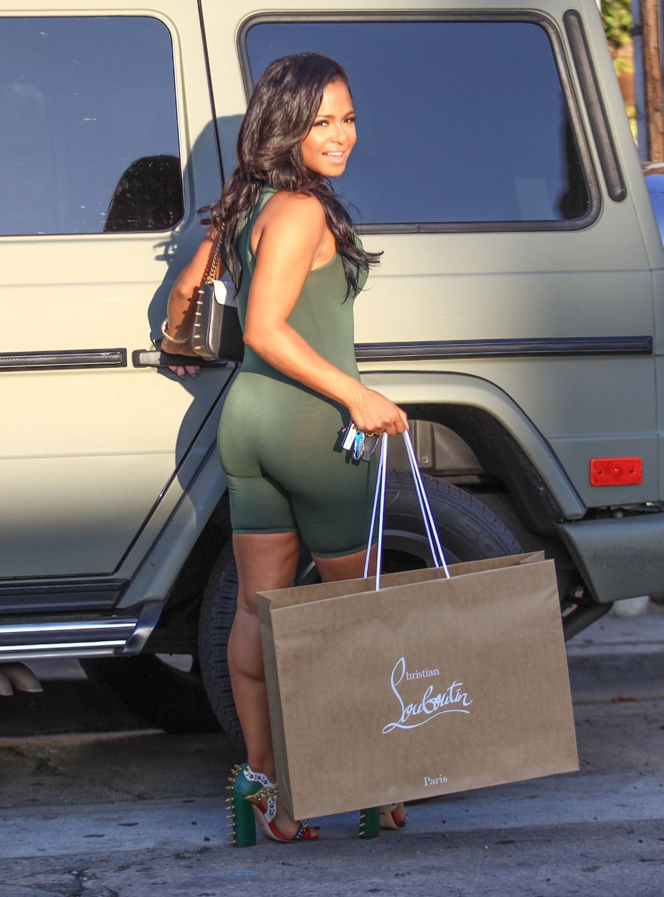 Christina milian looking hot as fuck on vacation 10