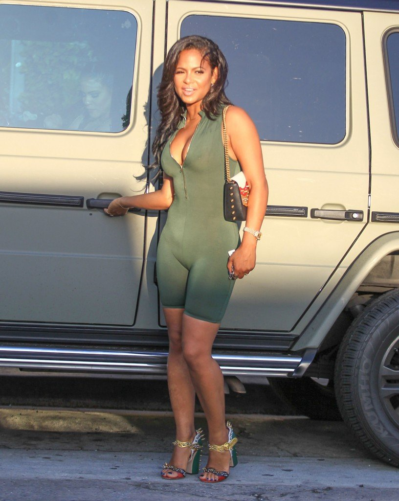 Christina milian looking hot as fuck on vacation 7