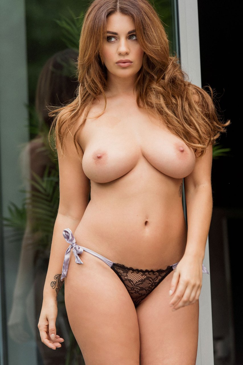 Page 3 model holly mcguire topless modelling