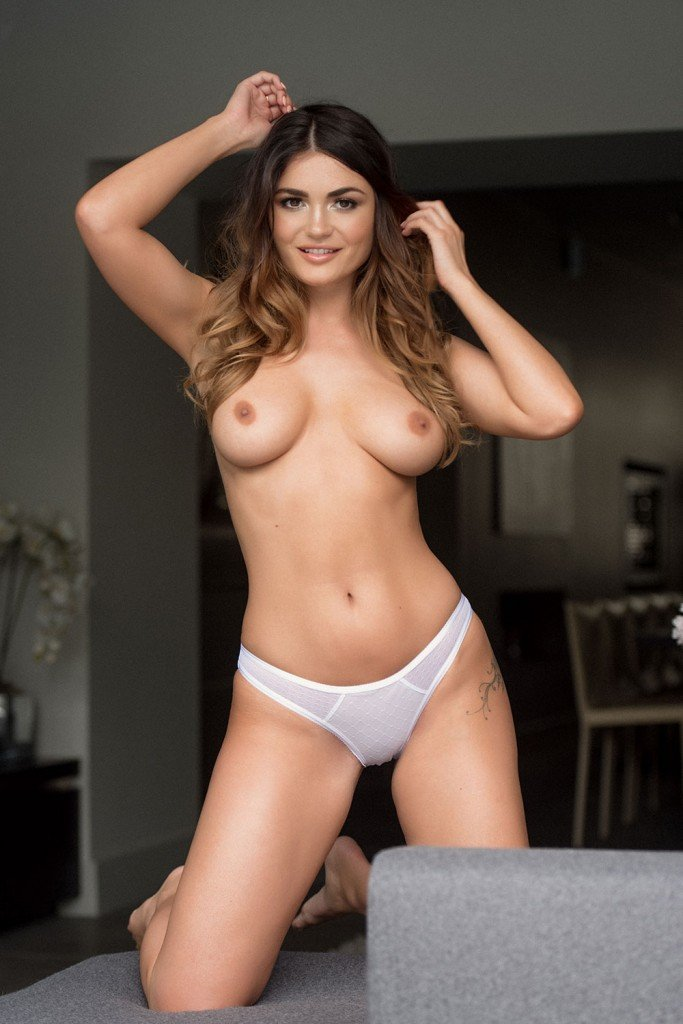 India Reynolds Topless 1